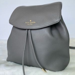 Kate Spade Gray Backpack